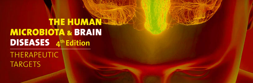 The Human Microbiota and Brain Diseases banner